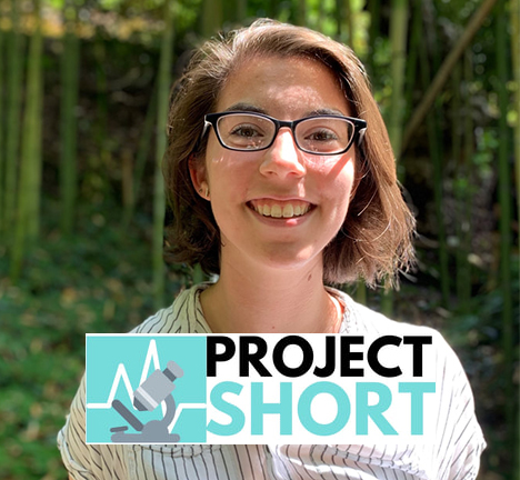Picture of Chloe McCollum with Project Short emblem