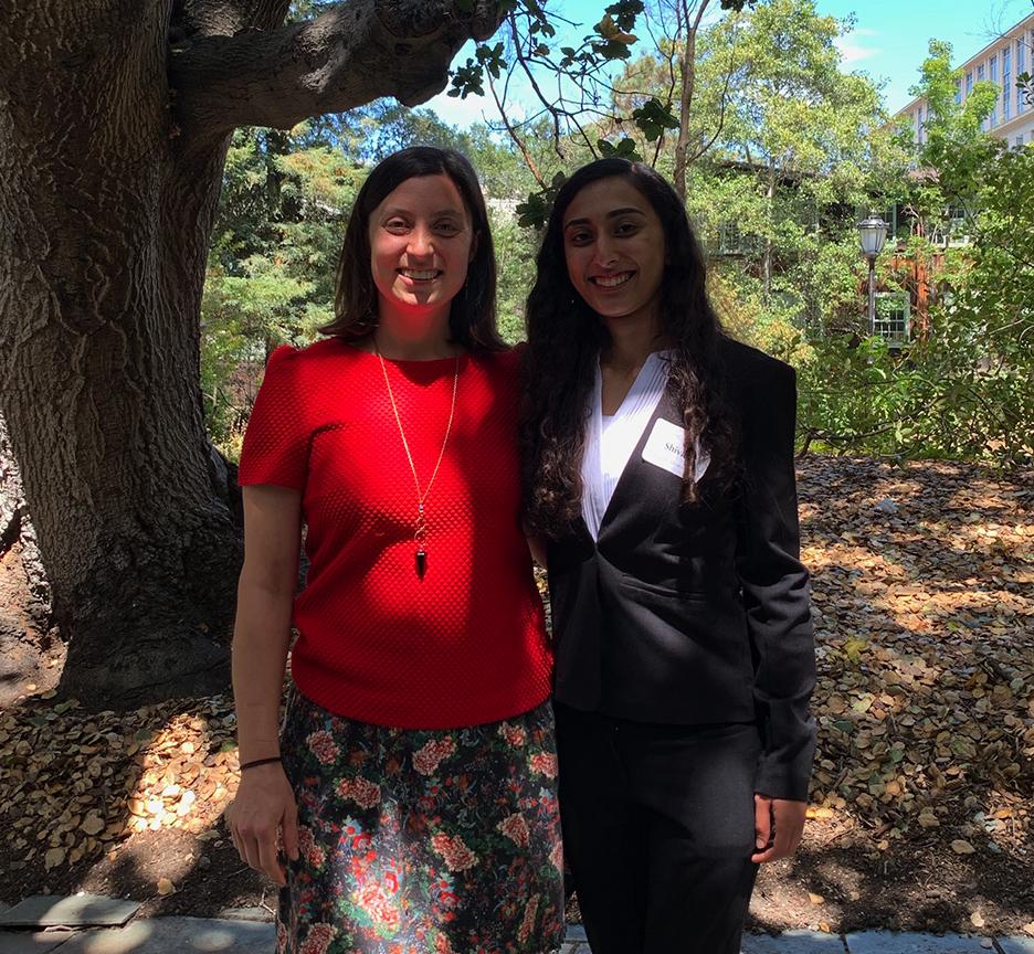 Picture of Ella Hartenian and Shivani Khosla